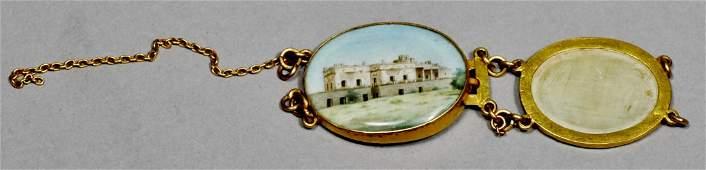 18 K Victorian Taj Mahal jewelry 18 K