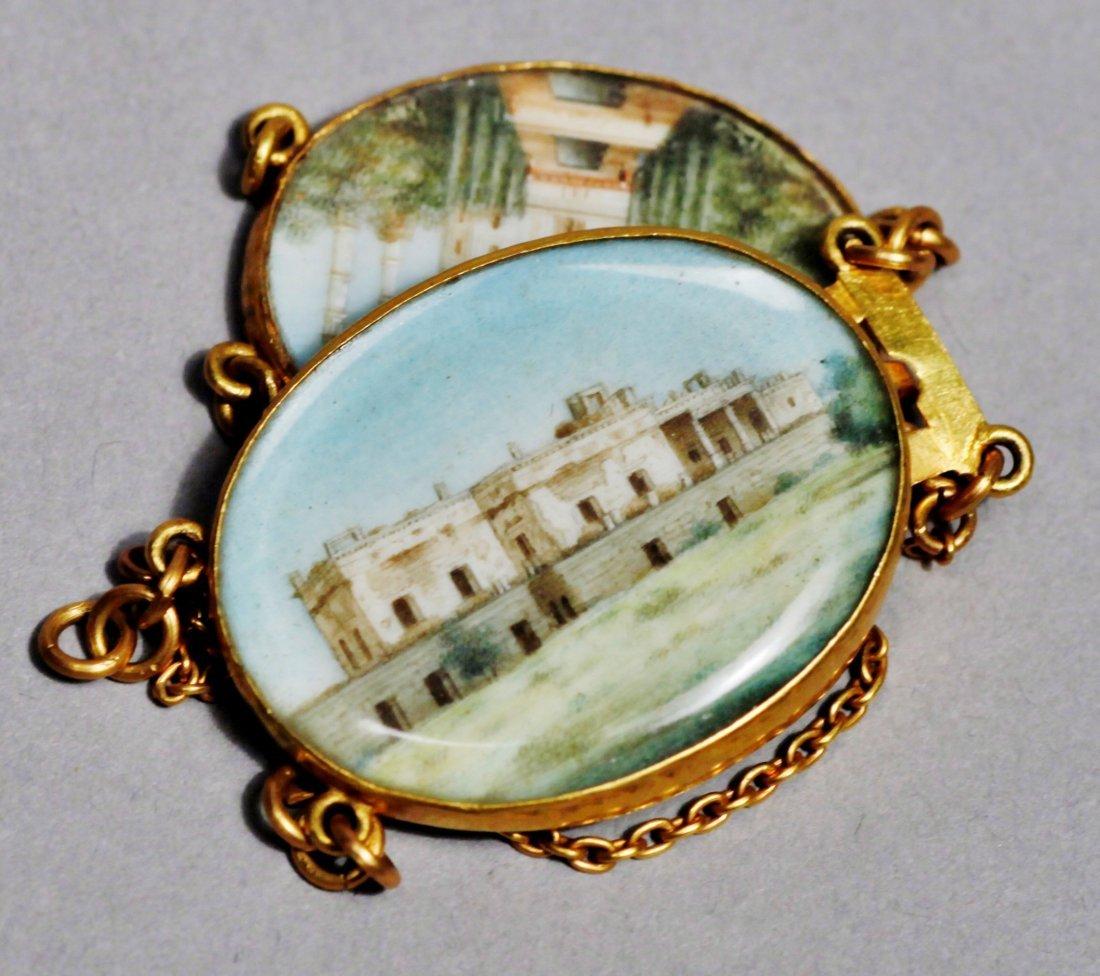 18 K Victorian Taj Mahal jewelry 18 K - 4