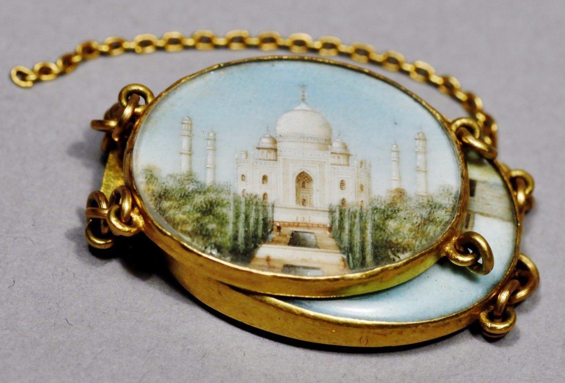 18 K Victorian Taj Mahal jewelry 18 K - 5