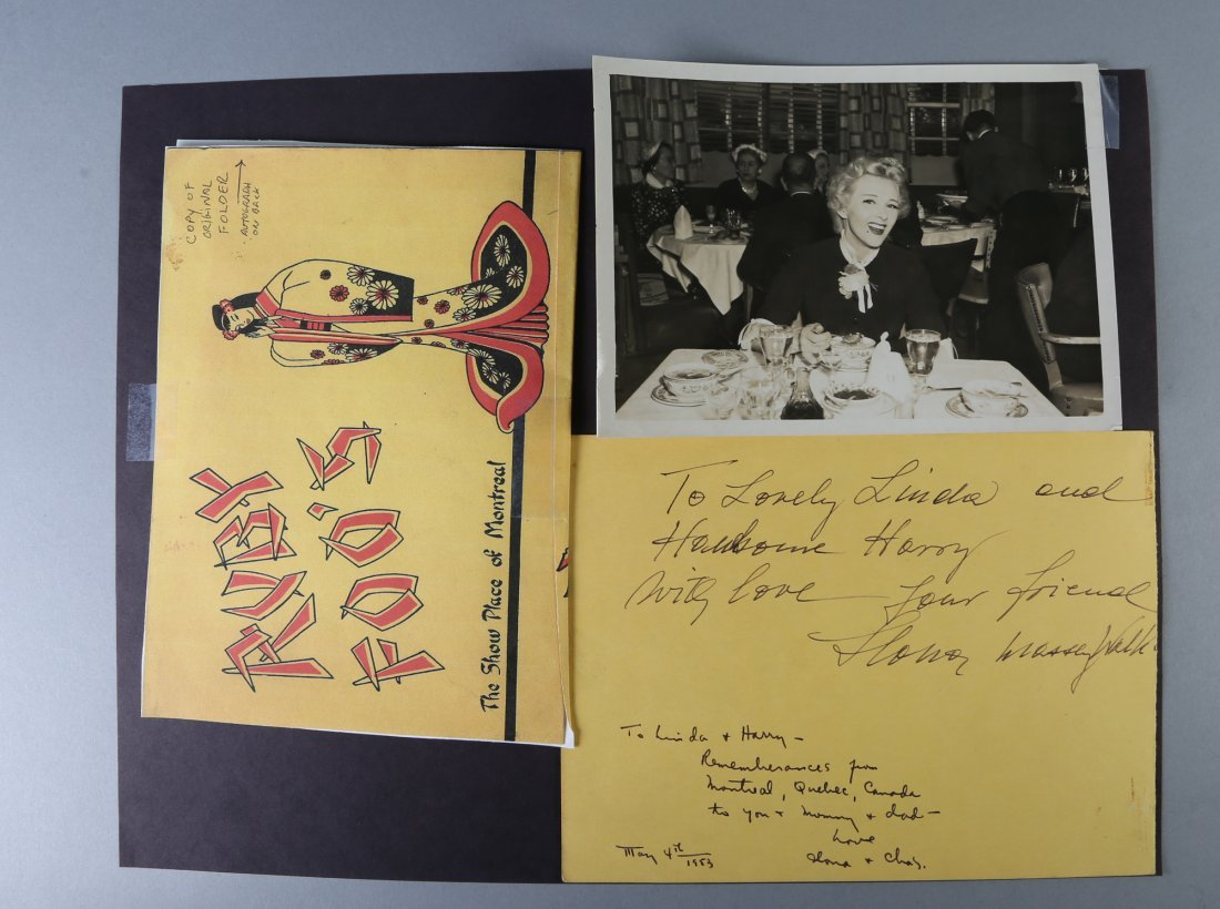 Hollywood Authentic Autographs Boris Karloff Marlon - 9
