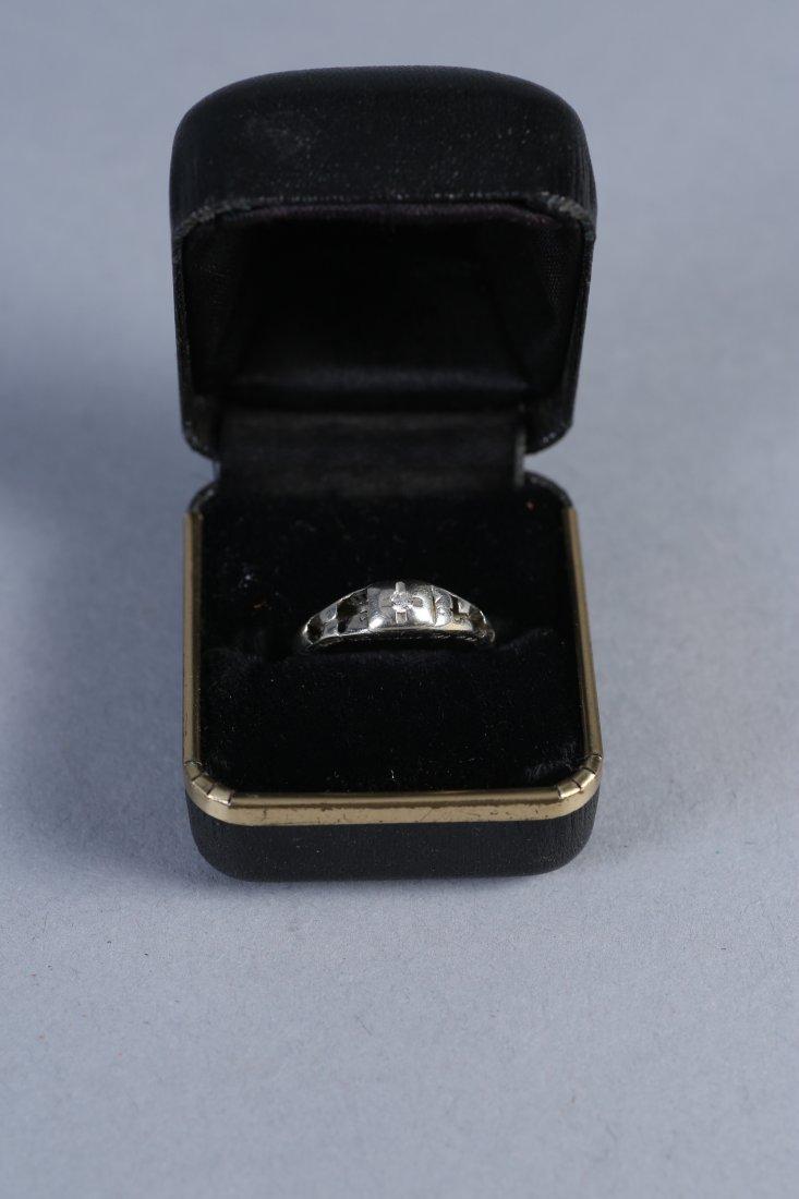 Antique Platinum & Diamond RIng