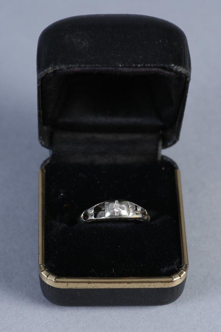 Antique Platinum & Diamond RIng - 2