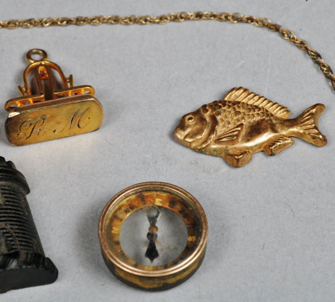 Lot of Misc Vintage & Victorian Jewelry pieces. - 3