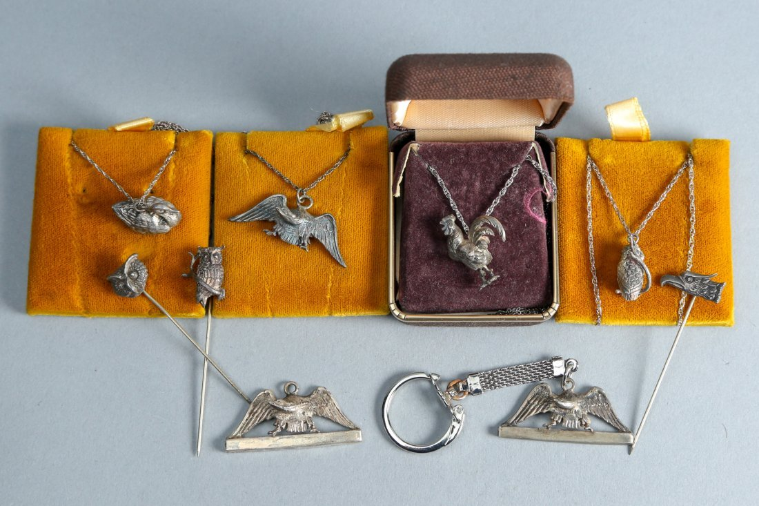 Animal related lot designer vintage sterling jewelry - 2