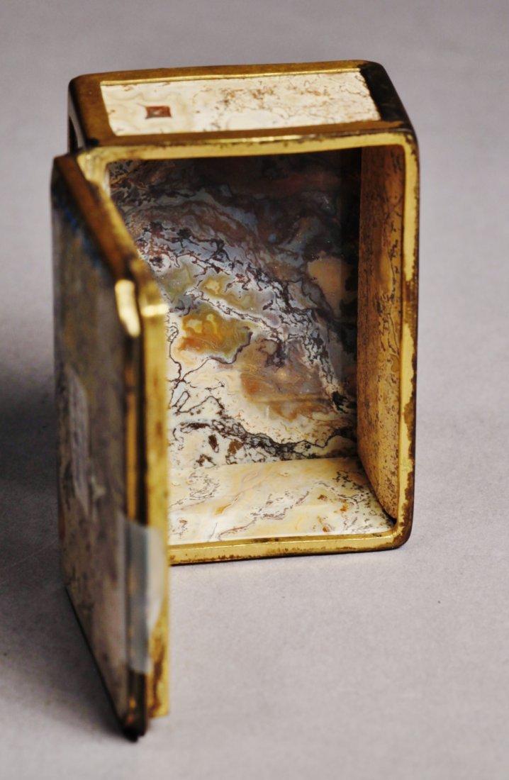 Antique Lot Faberge Style, Painted Porcelain Egg - 5