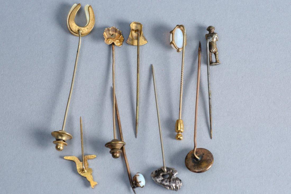 9 misc lapel pins vintage collection - 3