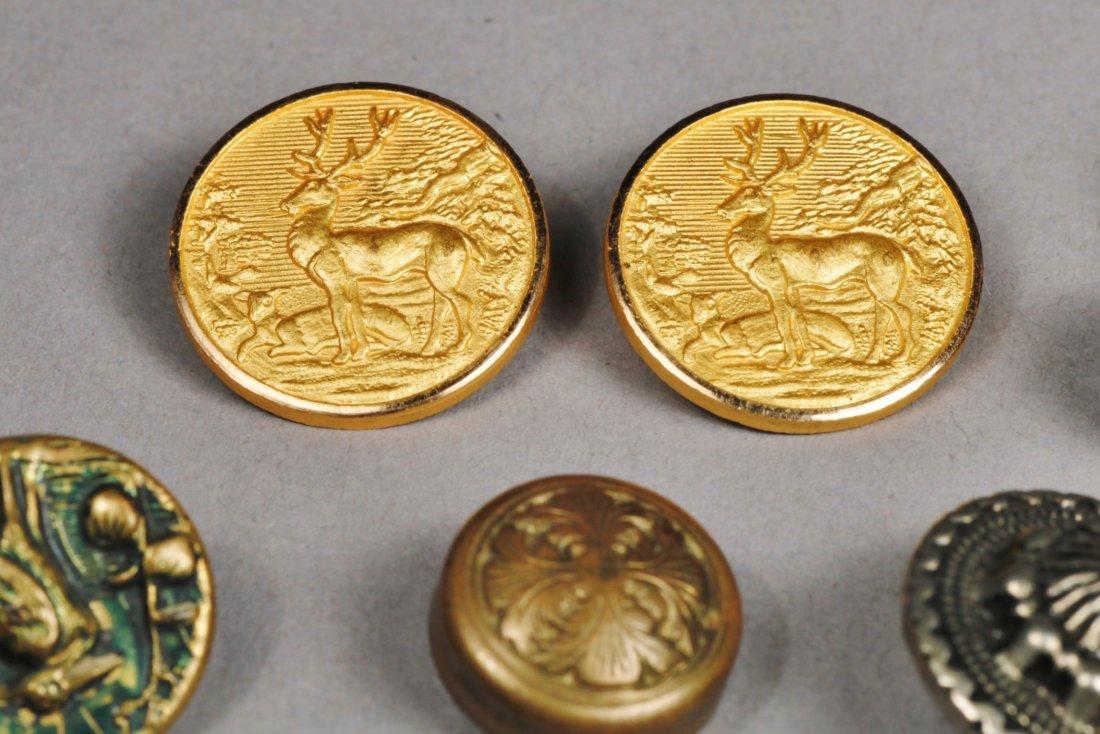 Vintage Button Lot, Sterling, Doskow & More - 2