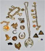 Vintage Western Costume Jewelry Lot