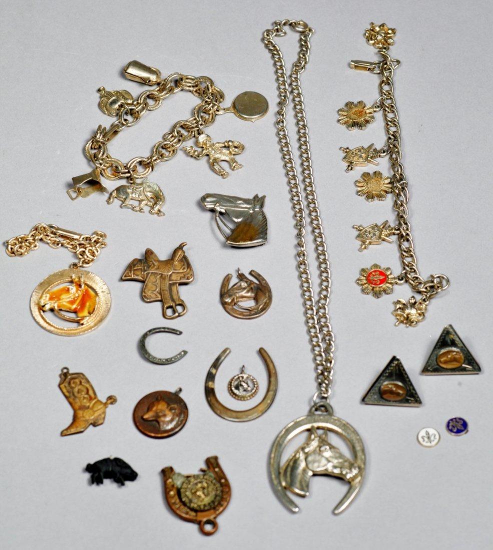 Vintage Western Costume Jewelry Lot