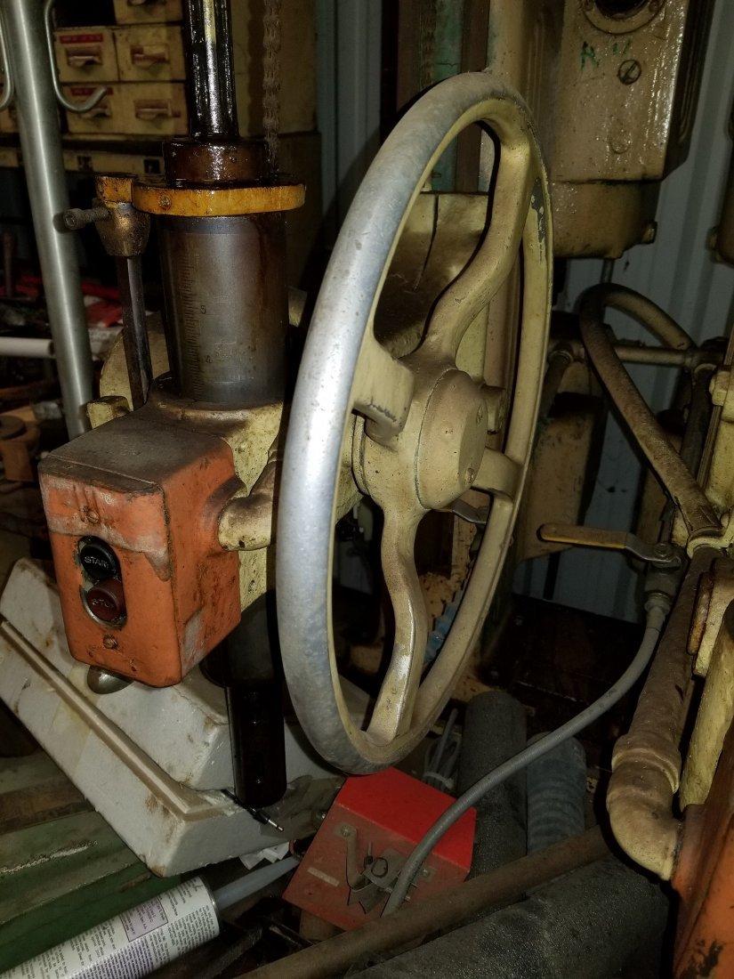 Vintage Fosdick 5 Head Hydraulic Drill Press - 5