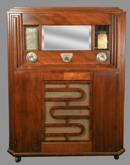 Rare Early Gabel Charme ? Coin Op Jukebox