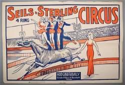 Vintage SeilsSterling 4 Ring Circus
