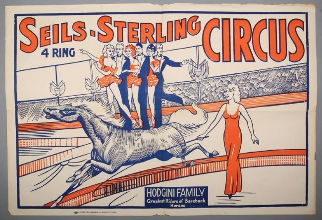 Vintage Seils-Sterling 4 Ring Circus