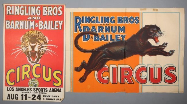Pair~ Ringling Brothers & Barnum & Bailey Los Angeles