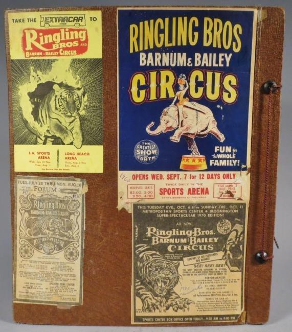 Menagerie! Ringling, Sells-Floto Scrapbook + 1894 + - 2