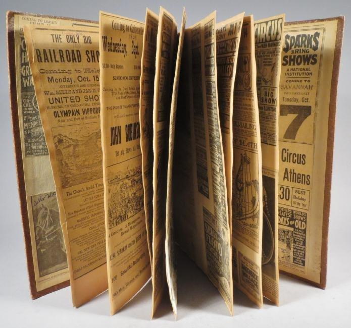 Menagerie! Ringling, Sells-Floto Scrapbook + 1894 + - 9