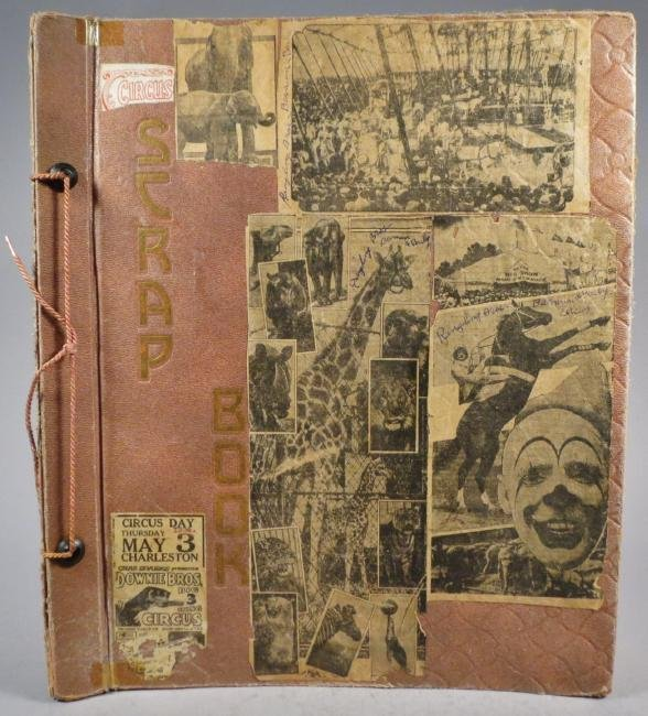 Most Colossal of All!Circus Scrapbook, Al G Barnes 1875