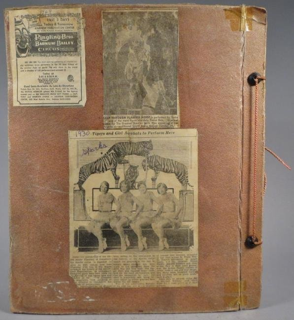 Most Colossal of All!Circus Scrapbook, Al G Barnes 1875 - 2