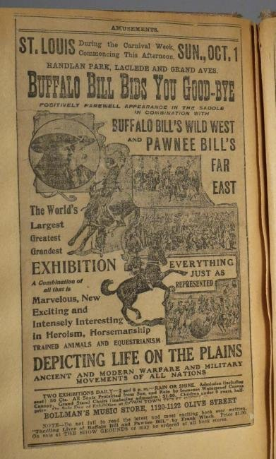 Most Colossal of All!Circus Scrapbook, Al G Barnes 1875 - 7