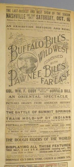 Hippodrome! Circus Scrapbook, Buffalo Bill's Wild West - 3
