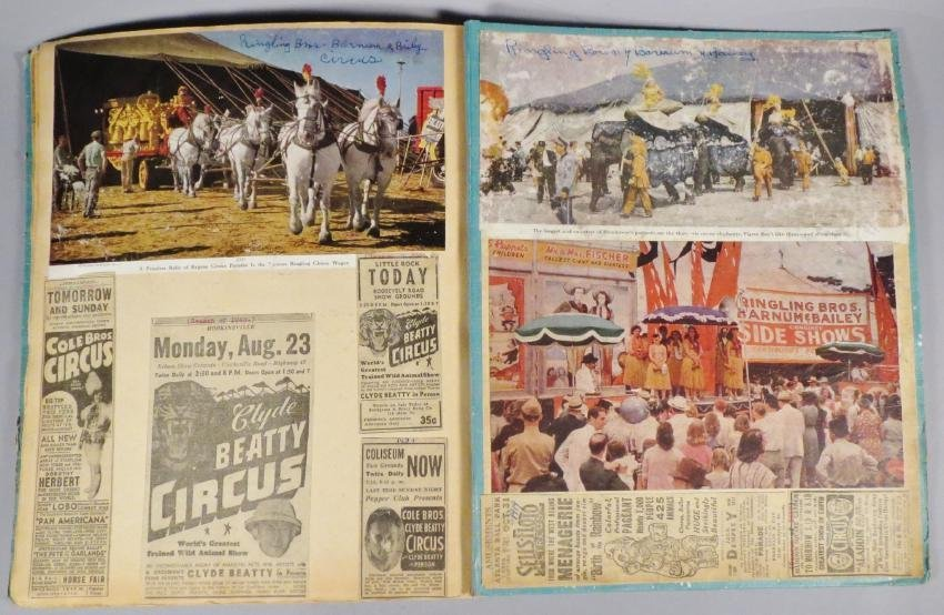 Hippodrome! Circus Scrapbook, Buffalo Bill's Wild West - 6
