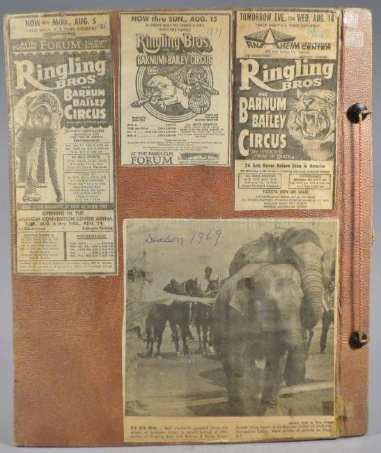 One Day Only! Circus Scrapbook, Hagenbeck-Wallace 1872 - 2
