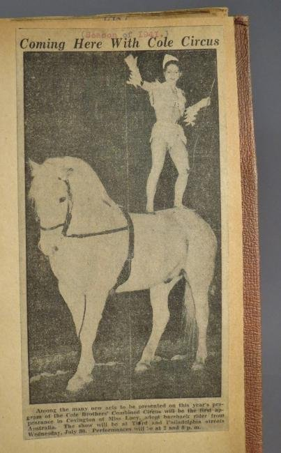 One Day Only! Circus Scrapbook, Hagenbeck-Wallace 1872 - 9