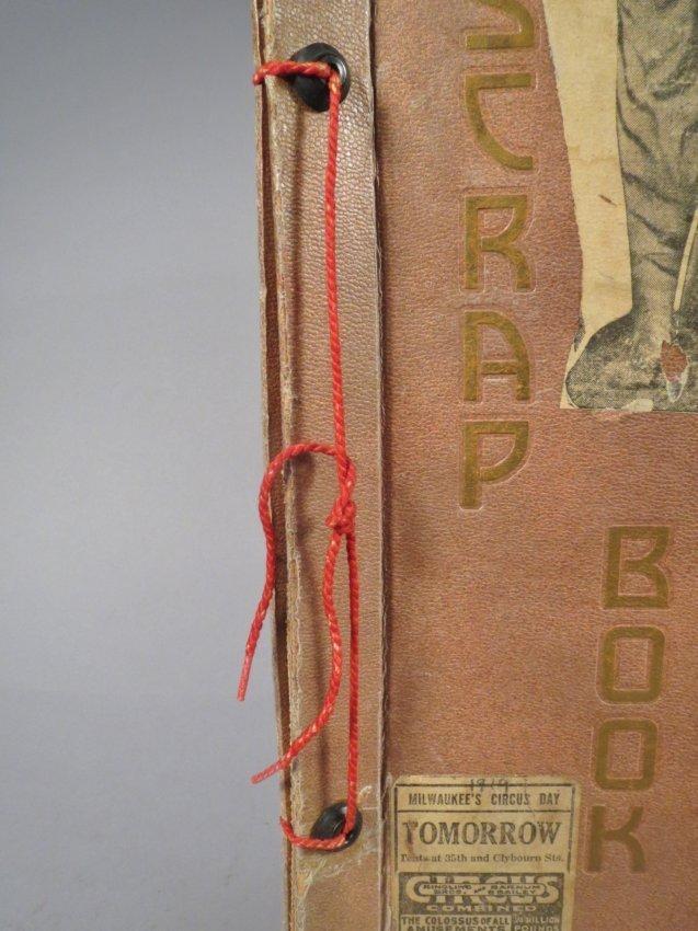 Giraffe Neck Woman! Circus Scrapbook, Gollman Bros 1892 - 3