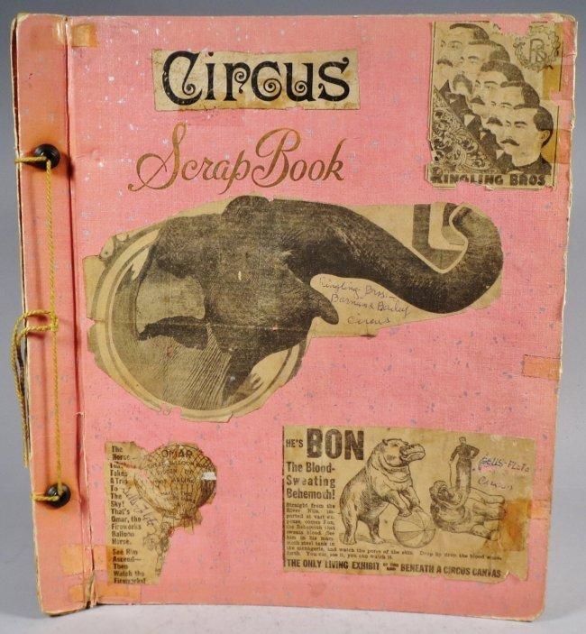 Looping the Gap! Circus Scrapbook, Barnum & Bailey 1887