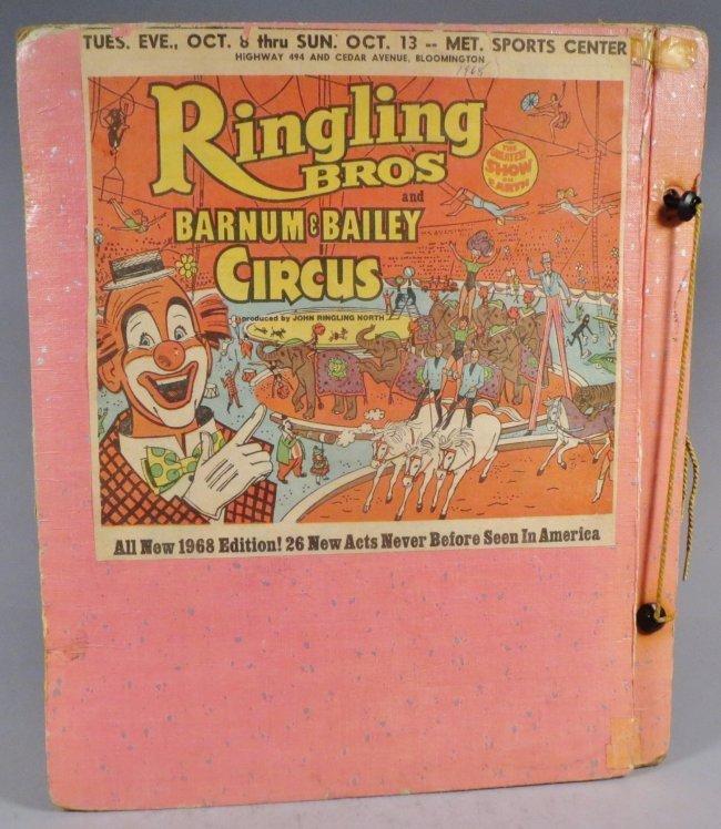 Looping the Gap! Circus Scrapbook, Barnum & Bailey 1887 - 2