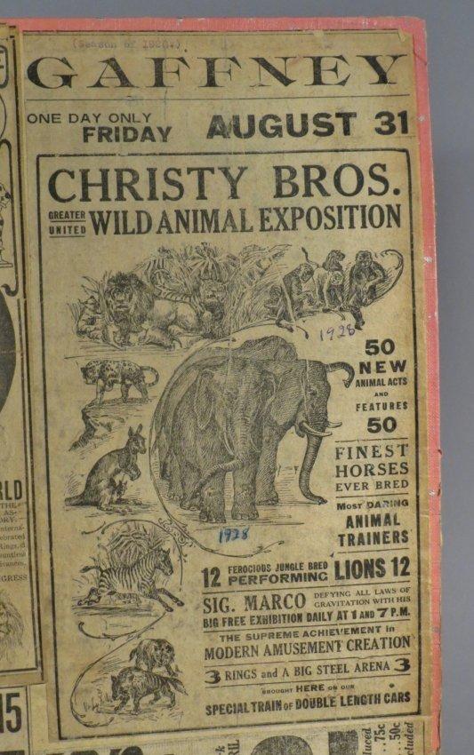 Looping the Gap! Circus Scrapbook, Barnum & Bailey 1887 - 6