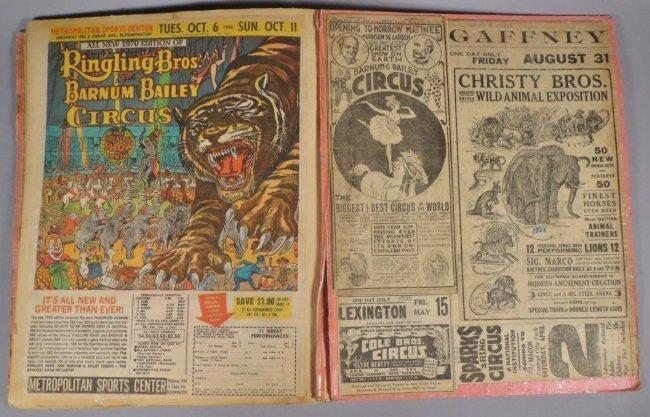 Looping the Gap! Circus Scrapbook, Barnum & Bailey 1887 - 7