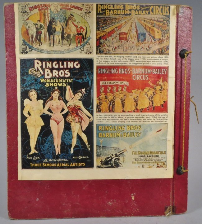 Enormous Shows United! Circus Scrapbook, 1901 Dempsey - 2