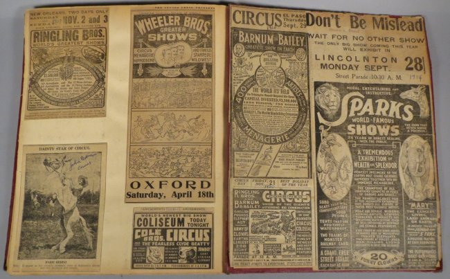 Enormous Shows United! Circus Scrapbook, 1901 Dempsey - 7