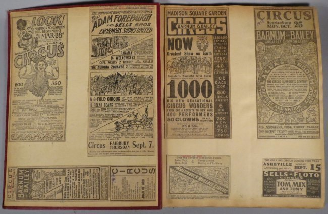 Enormous Shows United! Circus Scrapbook, 1901 Dempsey - 8