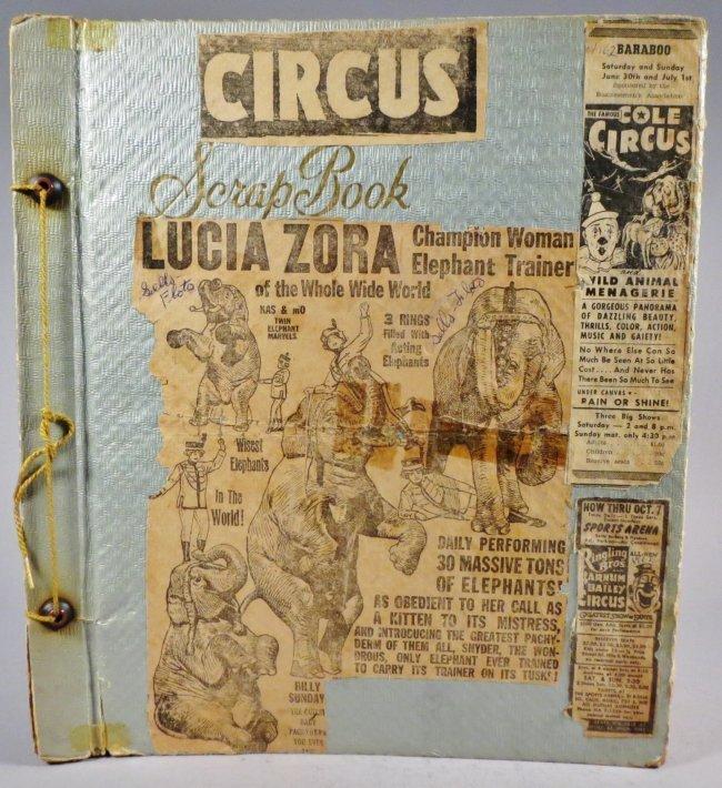 Vast Array of Freaks! Scrapbook, Sells & Downs Buffalo