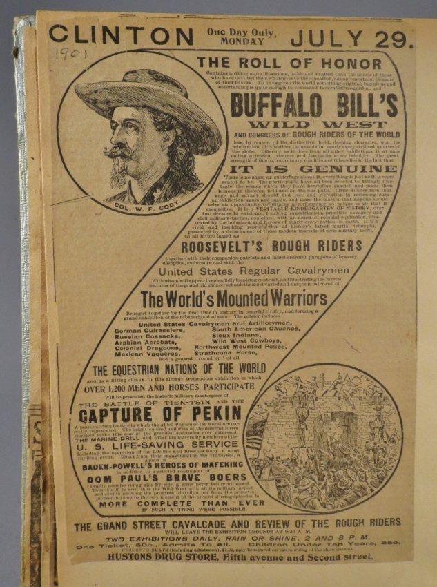 Vast Array of Freaks! Scrapbook, Sells & Downs Buffalo - 3