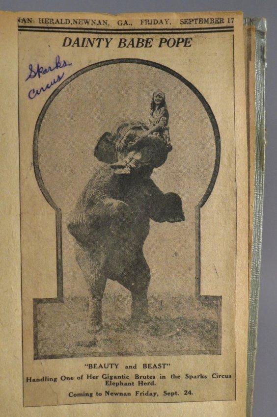 Vast Array of Freaks! Scrapbook, Sells & Downs Buffalo - 6