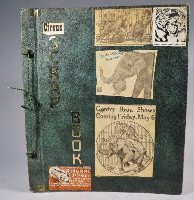 Zoological Paradise!Circus Scrapbook,Ringling Bros 1891