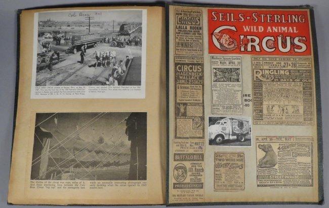 Zoological Paradise!Circus Scrapbook,Ringling Bros 1891 - 7