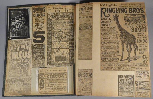 Zoological Paradise!Circus Scrapbook,Ringling Bros 1891 - 8