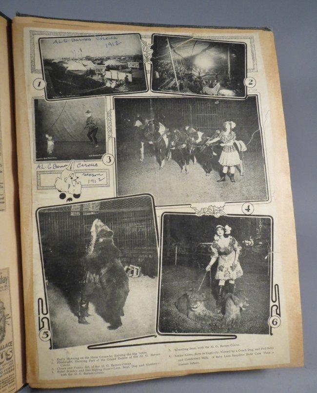 Zoological Paradise!Circus Scrapbook,Ringling Bros 1891 - 9