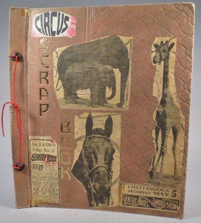 Startling, Stupendous Sensations! Circus Scrapbook 1872