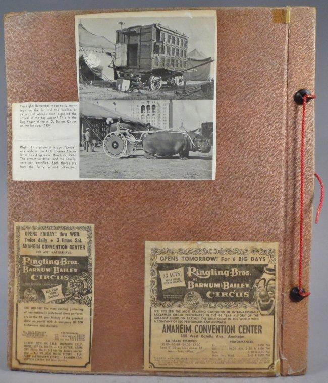 Startling, Stupendous Sensations! Circus Scrapbook 1872 - 2