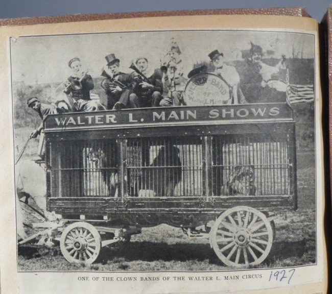 Startling, Stupendous Sensations! Circus Scrapbook 1872 - 5