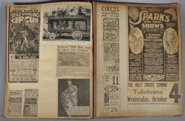 Startling, Stupendous Sensations! Circus Scrapbook 1872 - 7
