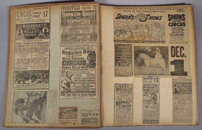 Startling, Stupendous Sensations! Circus Scrapbook 1872 - 8