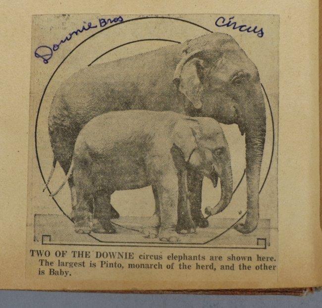 Startling, Stupendous Sensations! Circus Scrapbook 1872 - 9
