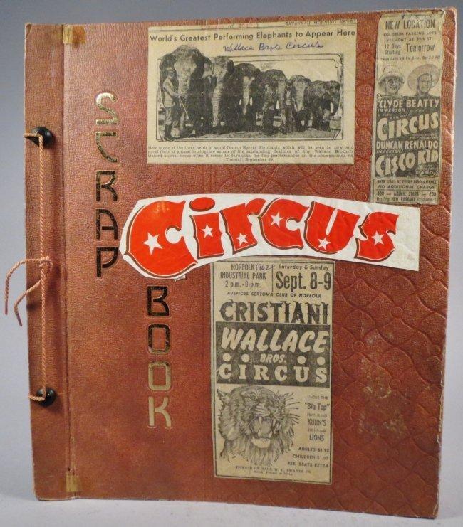 Jumbo Skeleton! Circus Scrapbook, Al G Barnes + 1882 +
