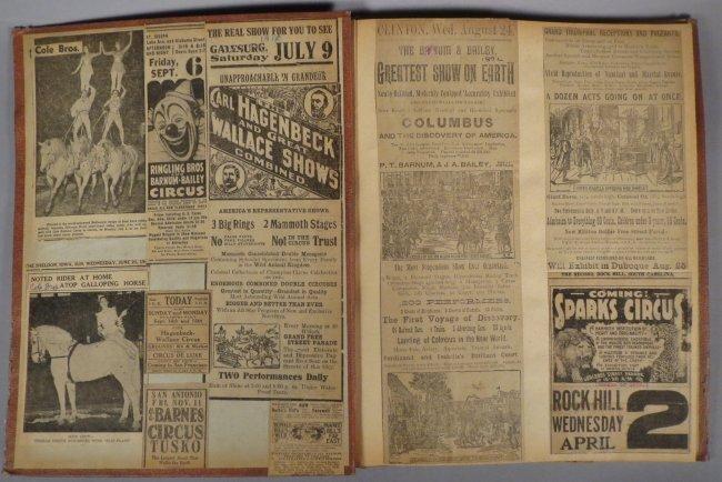 Jumbo Skeleton! Circus Scrapbook, Al G Barnes + 1882 + - 6